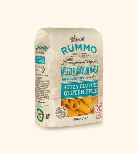 GLUTEN-FREE MEZZI RIGATONI | Rummo
