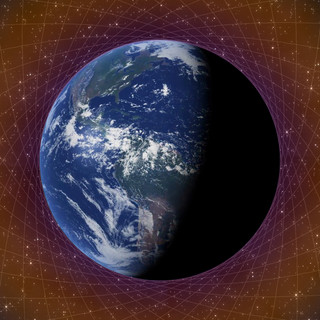 Compressed time structure Earth