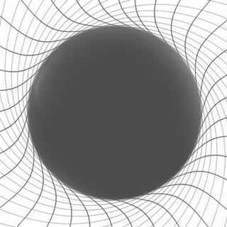 Time dragging rotating black hole