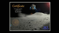 certificate moonpie mission