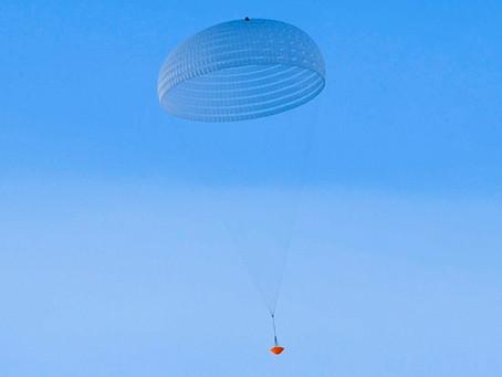 European Mars lander suffers parachute damage in test, 1 year before launch