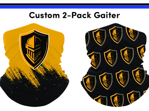 Black and Gold Gaiters