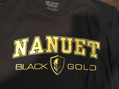 Black & Gold T-Shirt (Black)