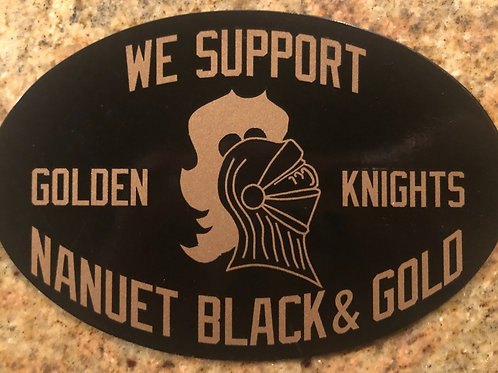 Black & Gold Magnet