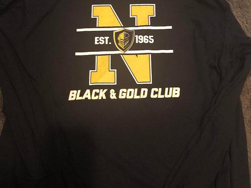 Black & Gold Long Sleeve