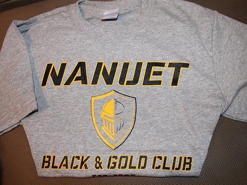 Youth Black & Gold Short Sleeve