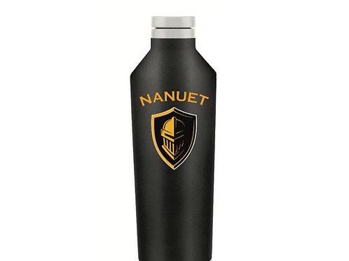 Nanuet Black and Gold 26oz Water Bottle