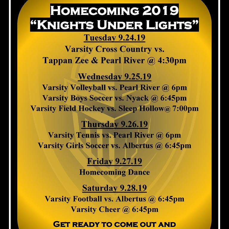 Homecoming Fest 2019