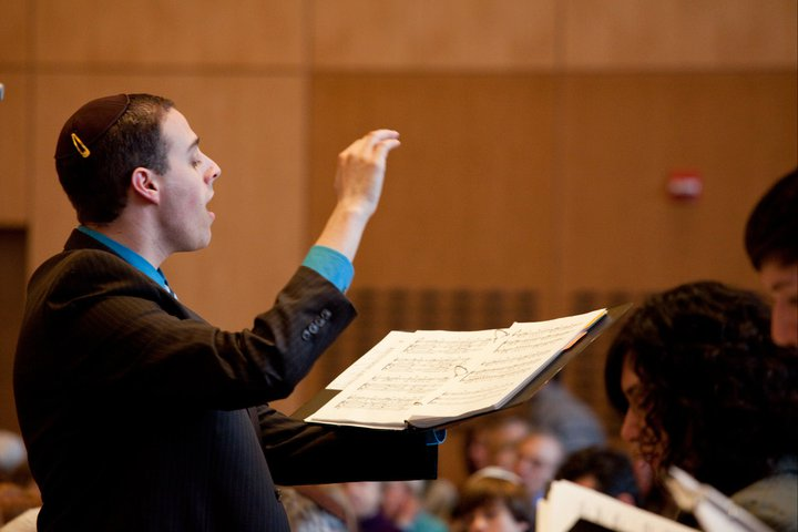 Conducting at Temple Beth Elohim