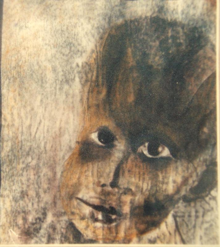 6. Traurigkeit. Zeichnung. 14x20cm