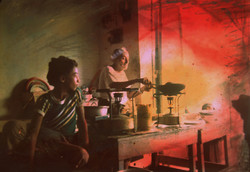 5.Restaurante yemeni. 1987. Foto