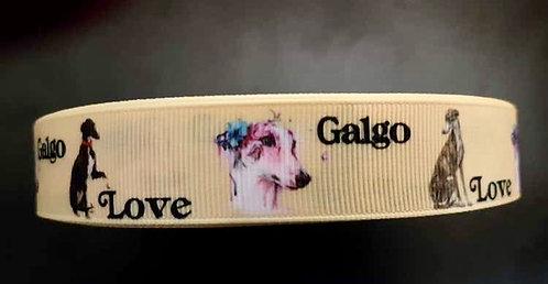 Love Galgo collar