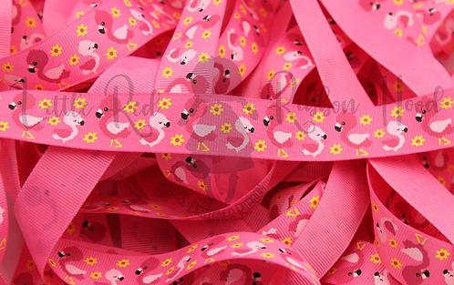 Baby pink flamingos