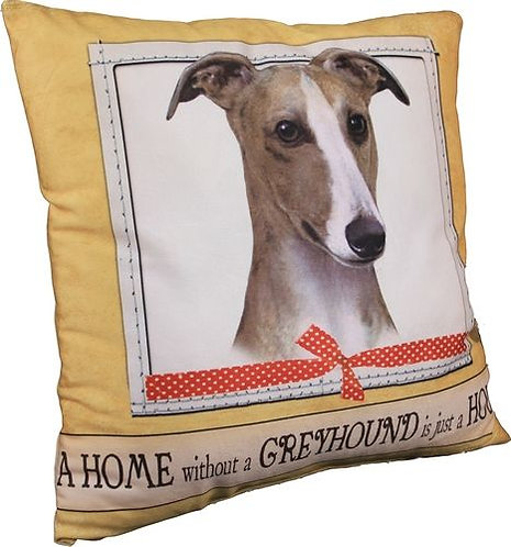 Greyhound pillow