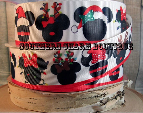 Mickey and Minnie Christmas martingale