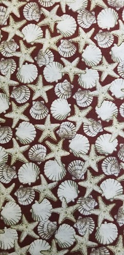 Brown Sea shells Martingale
