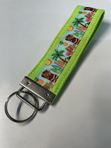 Hawaiian Luau Key Fob