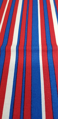 Red White Blue Stripes Martingale