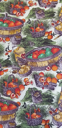 Basket of Apples and Peaches Martingale