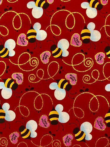 "1.5"" bee my valentine martingale"