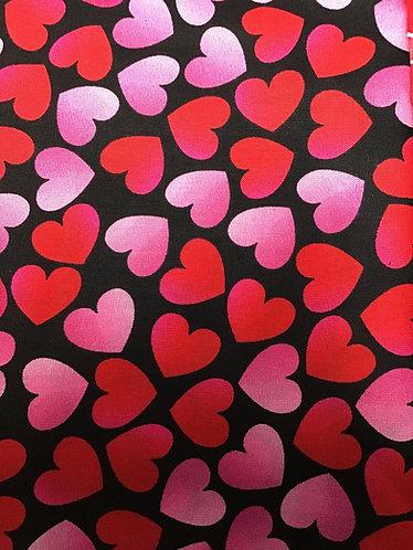 Valentine hearts collar