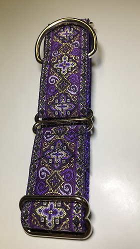 "1.5"" martingale and 1.5"" 6' matching leash"