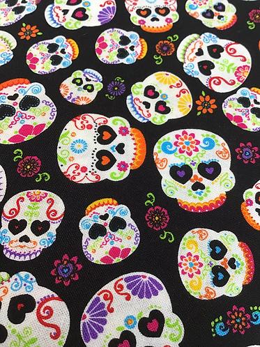 Sugar skulls collar