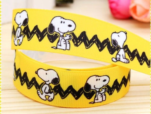 Snoopy yellow black martingale