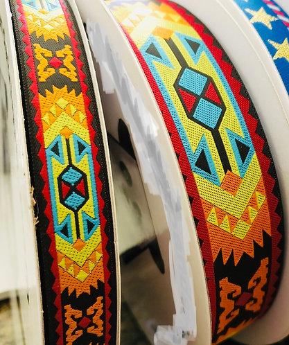 Aztec woven martingale