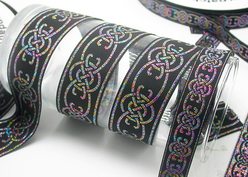 Metallic multicolor jacquard