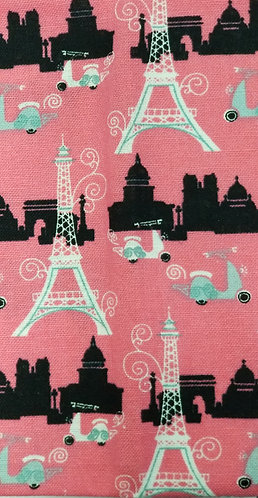 Eiffel Tower Pink Martingale