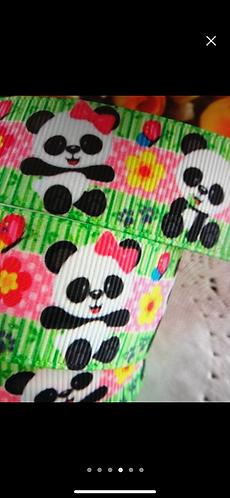 Panda mania collar