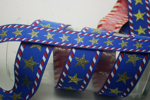 Stars n Stripes woven martingale