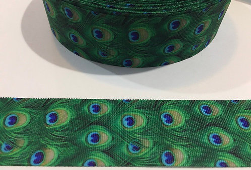 Peacock Feathers Martingale