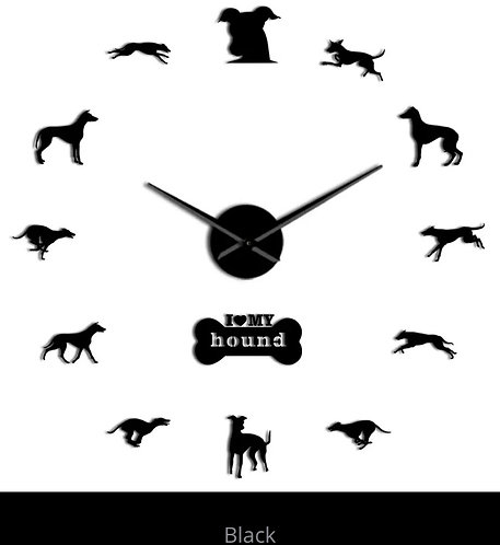 I love my Greyhound clock