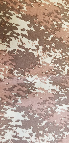 Brown Camouflage Martingale