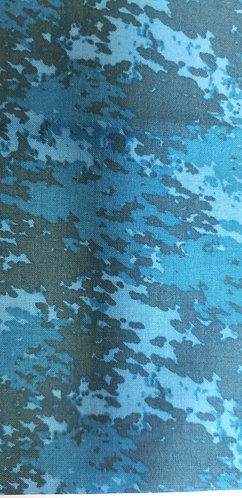 Blue Camouflage Martingale
