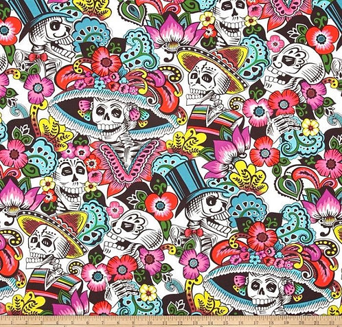 Skulls with hats martingale