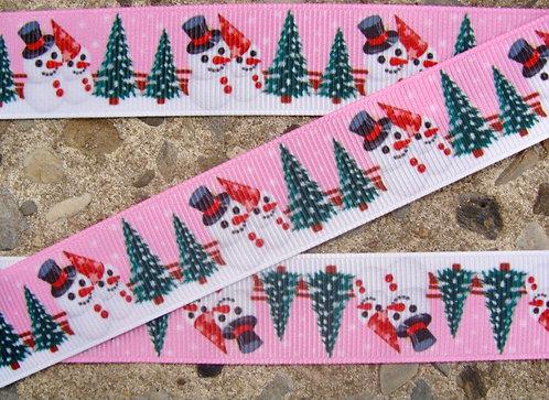 Pink snowman set custom order