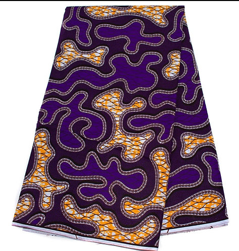 African theme purple martingale