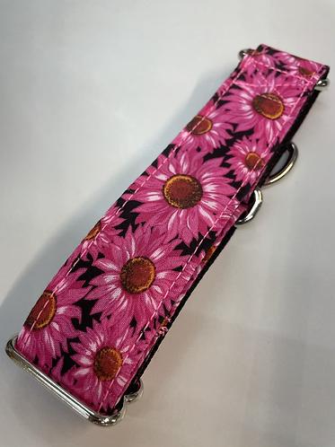 Pink daisy collar SKU 485