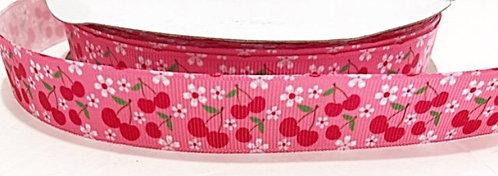 Pink cherry blossom collar