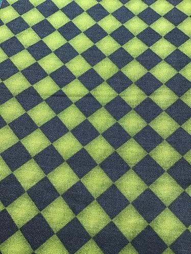 St Patrick's day checker board collar