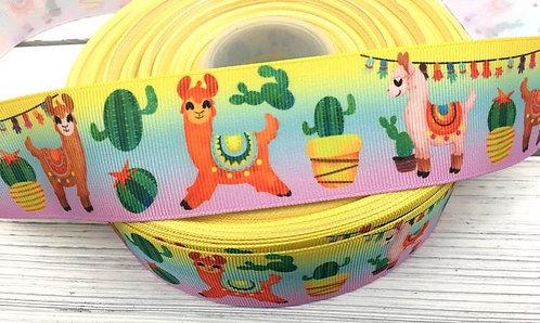 "1.5"" llama and cactus martingale"