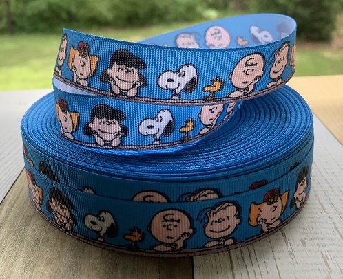 Peanuts gang blue martingale