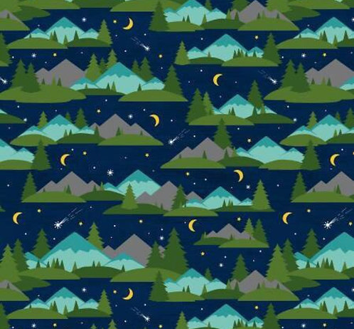 Mountain camping martingale