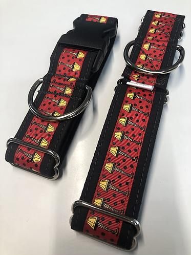 Red leg lamp collar