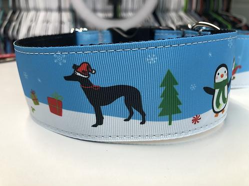 GreytCollar Christmas scene collar
