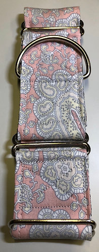 Pink paisley martingale