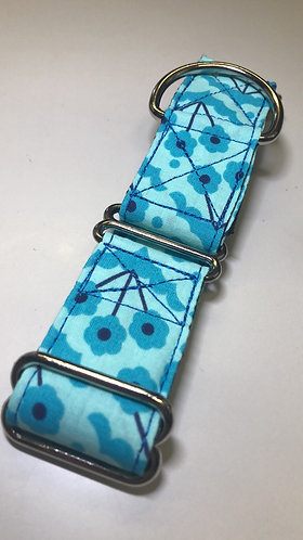 Spring Showers Floral Martingale